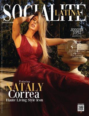 SOCIALITÉ LATINA Magazine - NATALY CORREA - April/2021 - PLPG GLOBAL MEDIA
