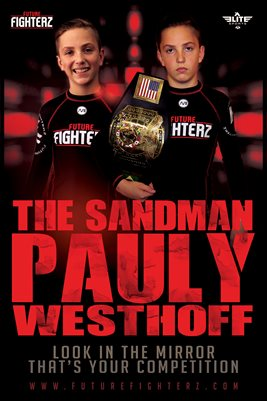 Pauly Westhoff Red Sandman Poster