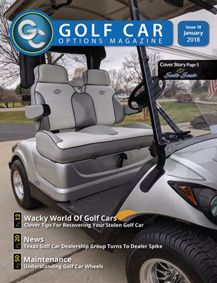 Golf Car Options Magazine - January 2018