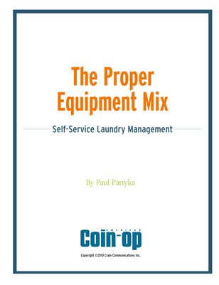 The Proper Equipment Mix: Self-Service Laundry Management