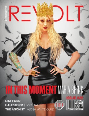 Alt Revolt Mag Issue 25.3 (Maria Brink | In This Moment) Limited Edition [1 of 4 covers]