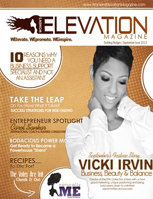 WE Magazine's September 2013 Issue