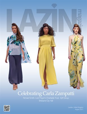 Lazin Magazine - Celebrating Carla Zampatti - August 2021