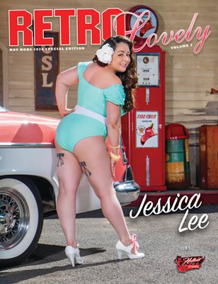 HOT RODS 2020 Vol 2 - Jessica Lee Cover