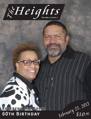 Volume 4 Issue 5 - Reverend Joe Cofer 60th Birthday