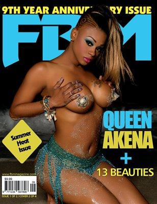FBM 9th yr Anniversary Issue Queen Akena cover