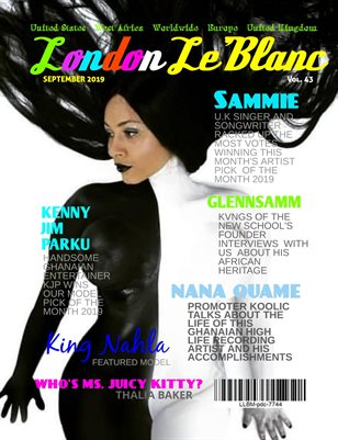London Le'Blanc Magazine Vol. 43-Nahla