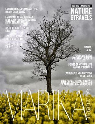 MARIKA MAGAZINE NATURE & TRAVELS (ISSUE 537 - January)