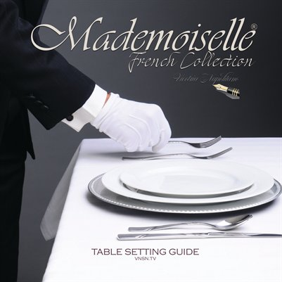 Mademoiselle French Collection Table Setting 2017