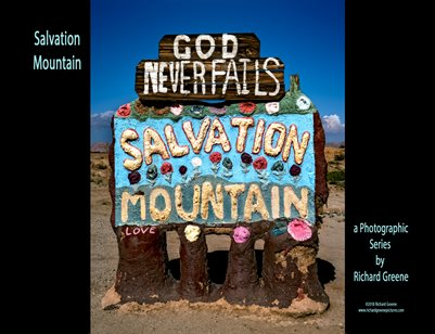 Salvation Mountain by Richard Greene