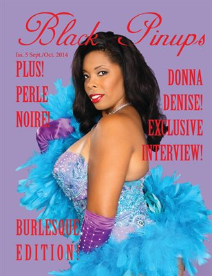 Black Pinups Issue 5-Donna Denise