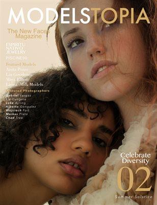 Modelstopia Magazine Issue 02 Cover 1