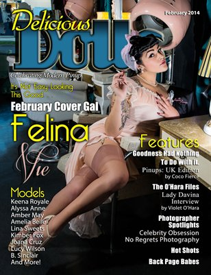 February 2014 Regular Issue - Felina Vie Cover