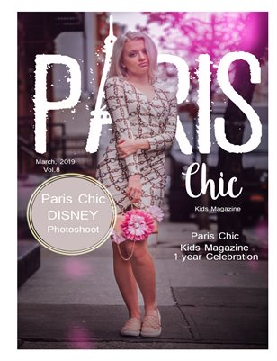 Paris Chic Kids magazine March 6