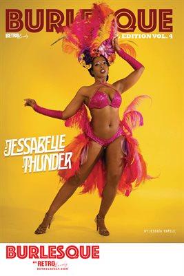 BURLESQUE Volume 4 - Jessabelle Thunder Cover Poster