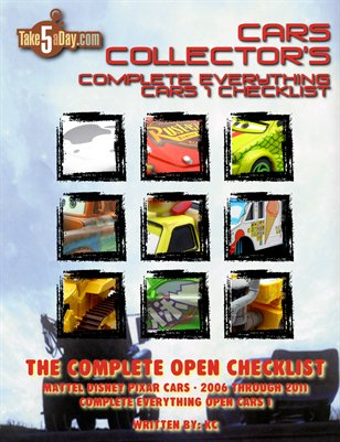 The Complete Everything CARS Open Checklist 2006-2011