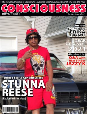 Stunna Reese Featured on Cover of Consciousness Magazine