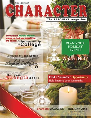 2013 Holiday Issue