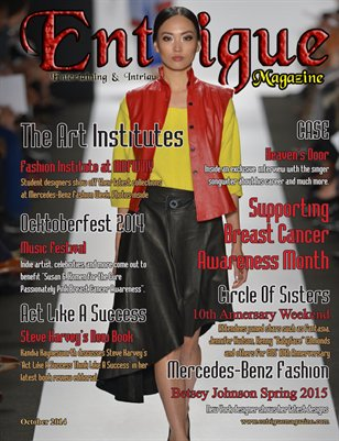 Entrigue Magazine August 2014 (Fashion Cover)