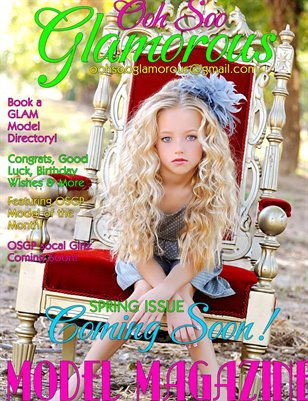 Ooh soo glamorous model magazine magcloud
