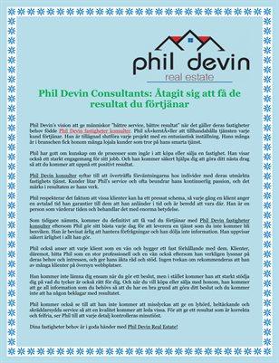 Phil Devin Consultants: Åtagit sig att få de resultat du förtjänar