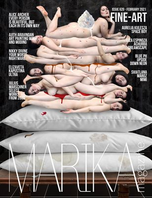 MARIKA MAGAZINE FINE-ART (ISSUE 620 - February)