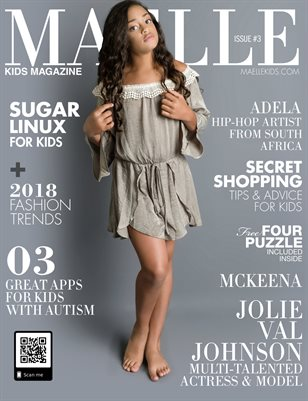 Maelle Kids Magazine #3 Jolie Val Johnson