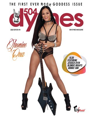 504Dymes Magazine Rock Goddess 2020 Vol. 4