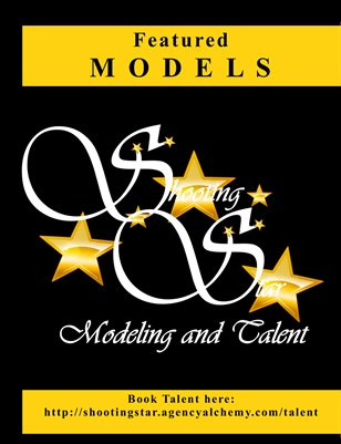 Featured Model Book - Shooting Star Modeling and Talent
