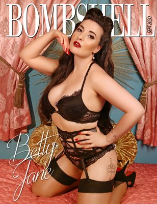 BOMBSHELL Magazine September 2020 - Betty Jane Cover