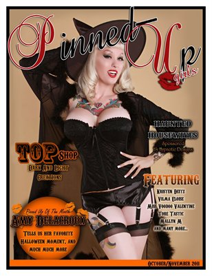 Pinned-Up Girls Issue one
