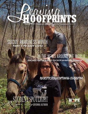 Leaving Hoofprints Fall 2019