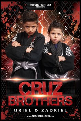 Cruz Brothers Red Lightning Poster