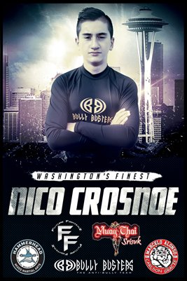 Nico Crosnoe Washington's Finest - Poster