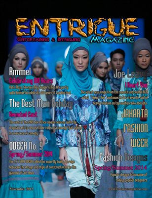 Entrigue Magazine November 2013