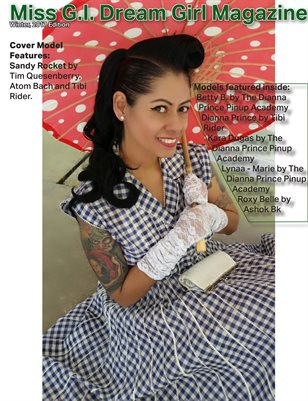 Miss G.I. Dream Girl Magazine ( December 2017 ) Sandy Rocket