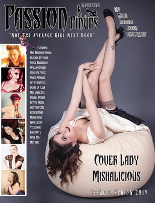 Passion Pinups Issue 9 Spring 2019