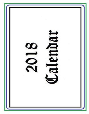 2018 Calendar v.2