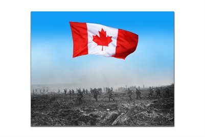 Canadians Advance on Vimy Ridge