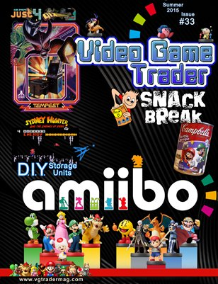 Video Game Trader #33 (Summer 2015)