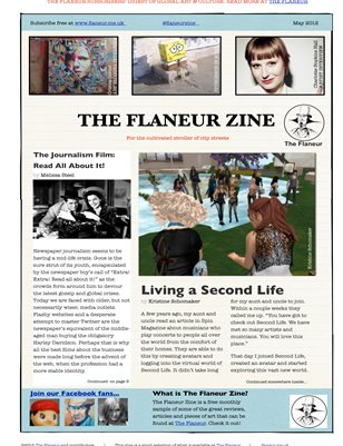 The Flaneur Zine
