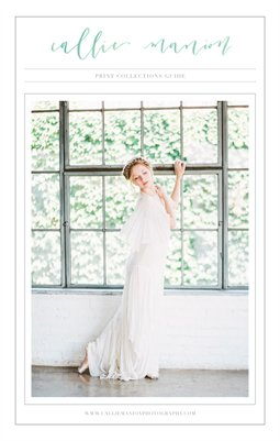 Wedding Print Collections Guide