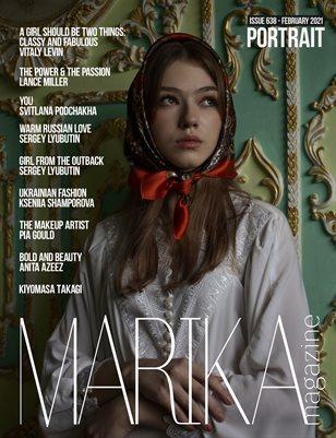 MARIKA MAGAZINE PORTRAIT (ISSUE 638 - February)