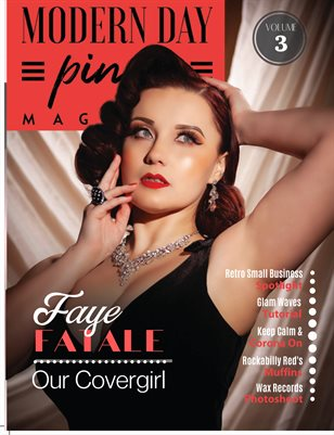 Modern Day Pin Up Magazine Volume 3