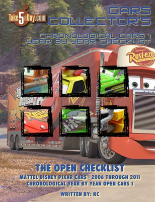 The Complete Year by Year Series CARS Open Checklist 2006-2011