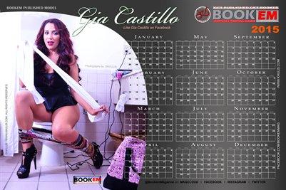 Gia Castillo 2015 Calendar 1
