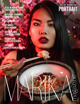 MARIKA MAGAZINE PORTRAIT (DECEMBER-ISSUE 430)