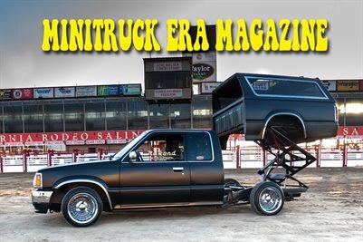 MINITRUCK ERA MAGAZINE Issue 1 DAN SANCH POSTER