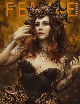 Femme Rebelle Magazine November 2020 BOOK 2 - Elvasyster Artworks Cover