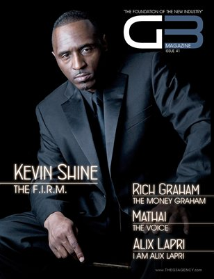 G3 Magazine Issue 41 (Kevin Shine Cover)